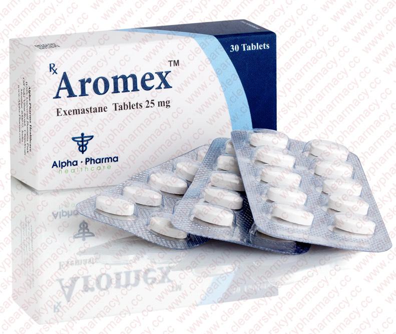 Aromex | Exemestane 25 mg Tablets | Aromasin Generic