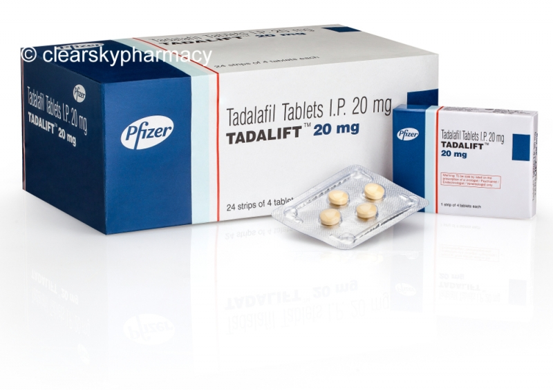 Tadalift By Pfizer Buy Generic Tadalafil 20 Mg Tablets Online Recommended Dosage