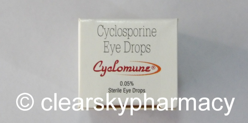 Cyclosporine Eye Drops 0.05% & 0.1% | Restasis Generic
