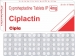 Ciplactin Tablets (Cyproheptadine HCl)